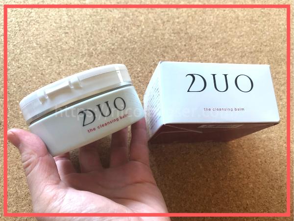 DUO の箱と容器